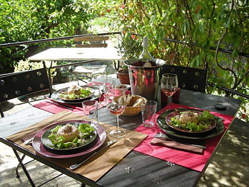 La table du marché, cours de cuisine